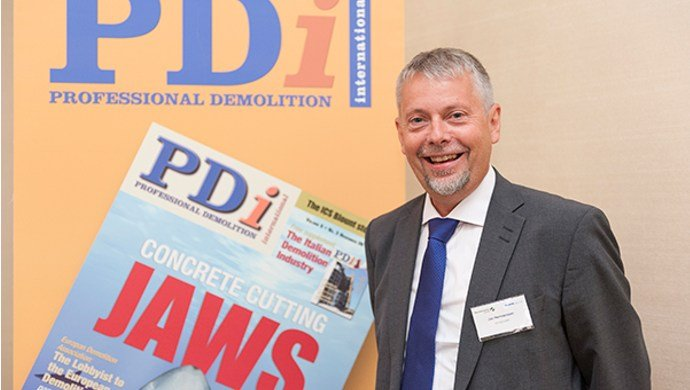 Jan Hermansson, editor of PDI magazine